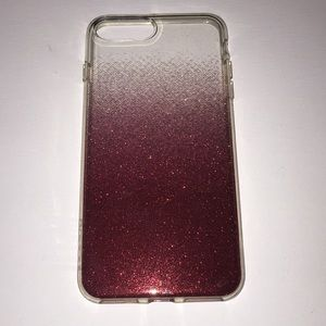 Red Sparkle case